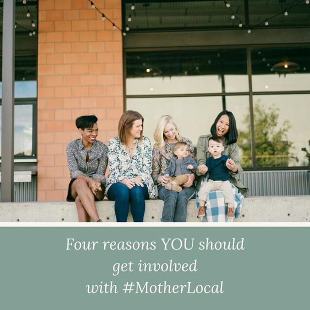 Today #ontheblog Tori, our community coordinator, is giving you FOUR reasons you should get involved with #MotherLocal - and it's not exactly for all the reasons you think you should. Head over to the blog now to find out more    Don't know what #MotherLocal is? It is groups of moms who meet right in your communities to support and encourage one another and to have fun!