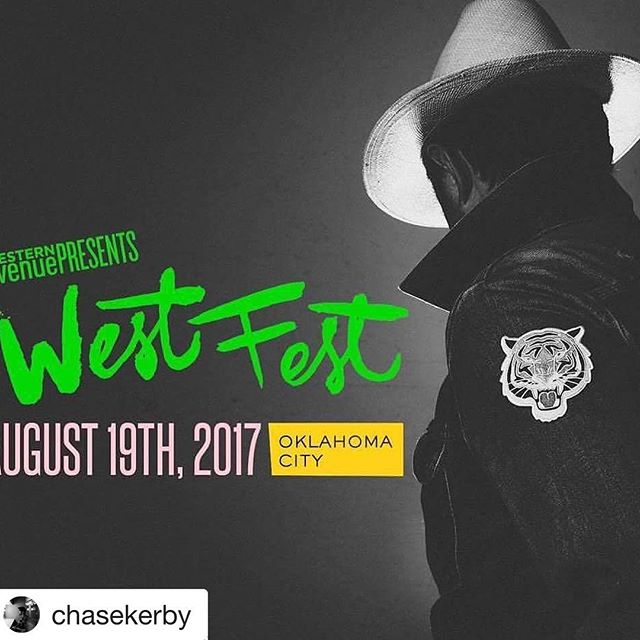 Don't miss our headliner @beauscottjennings tomorrow!  #Repost @chasekerby (@get_repost) ・・・ Excited to be playing @westfestok tomorrow with @beauscottjennings and the Tigers!