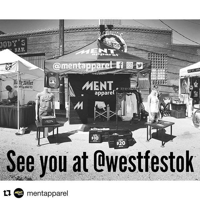 @mentapparel at #WestFestOK tomorrow!  #Repost @mentapparel (@get_repost) ・・・ See you at @westfestok tomorrow from 12-10pm! #shoplocal #okc