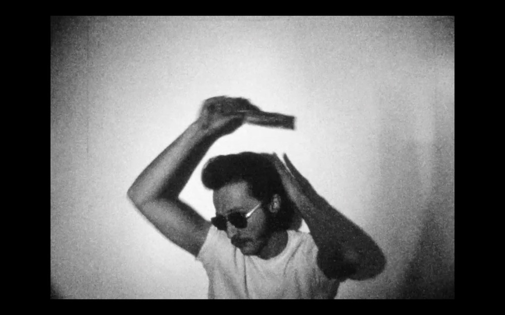Paul Kos, RR, 1986. Super 8mm film, 2:43.
