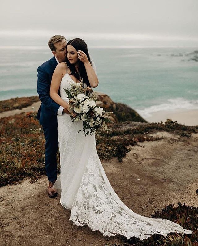| BIG SUR | • It's just you and me. . . Honored to be apart of Mike + Madison's elopement in Big Sur! It's super cool to see two friends get married, and do it in such stunning and epic way 🙌🏻 • • • Side thought: The depth of color in this photo is outrageous!! It's making me have all these #fallfeels 🍂
