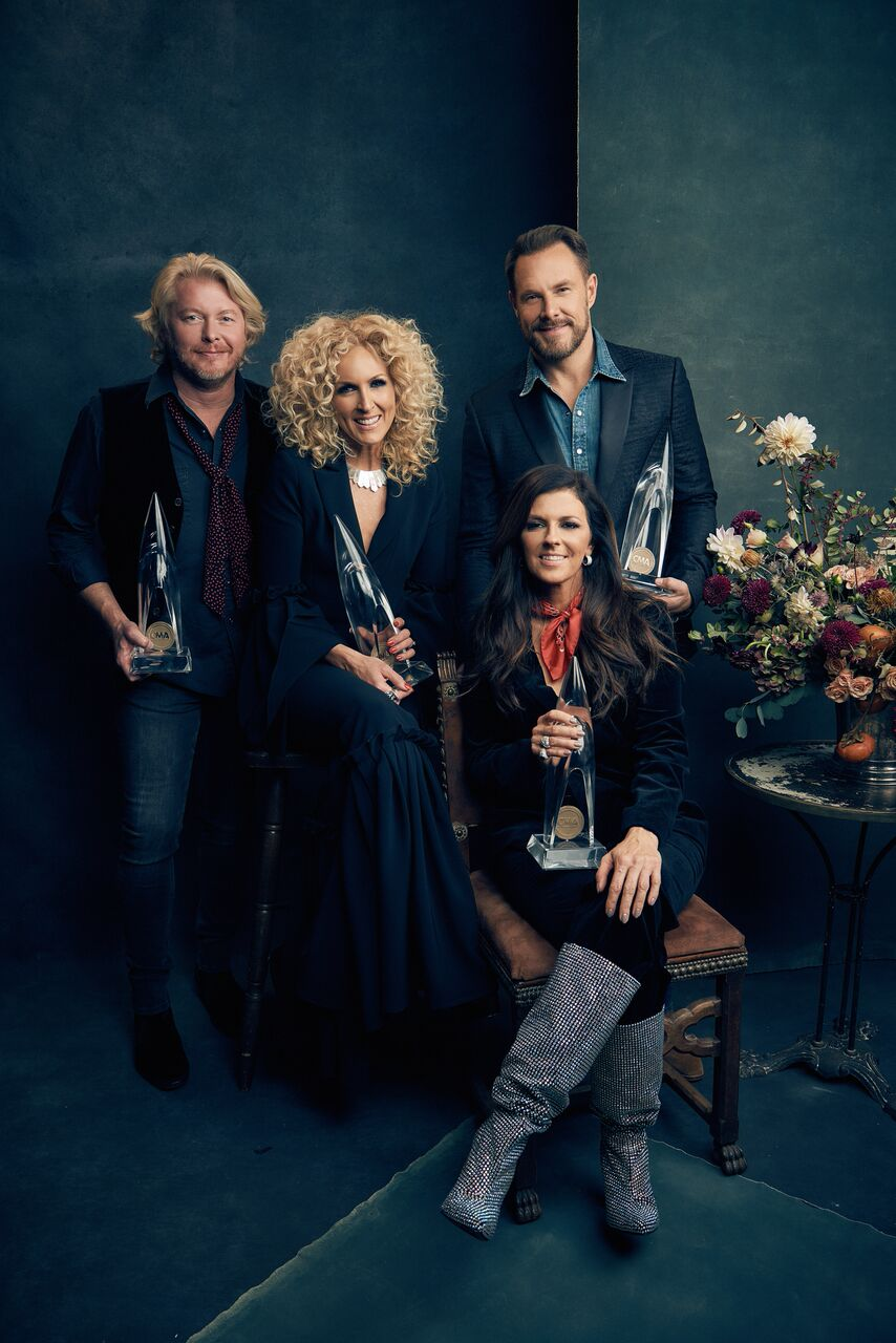 Little Big Town shot by Cameron Powell   ADR set designfor people magazine