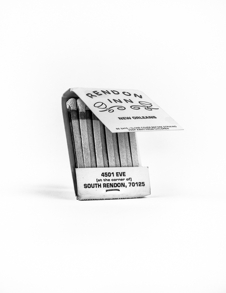 Rendon Inn matchbook, front