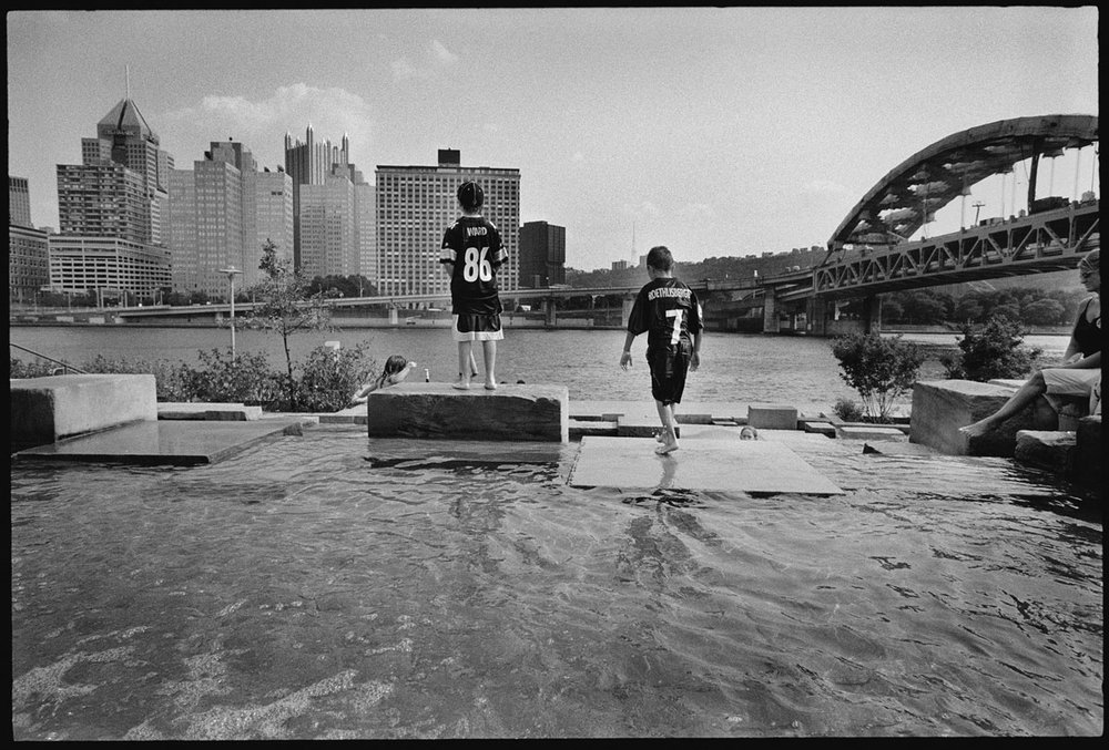 Riverside Park. Pittsburgh 2005. © Kevin Francis Sweeney
