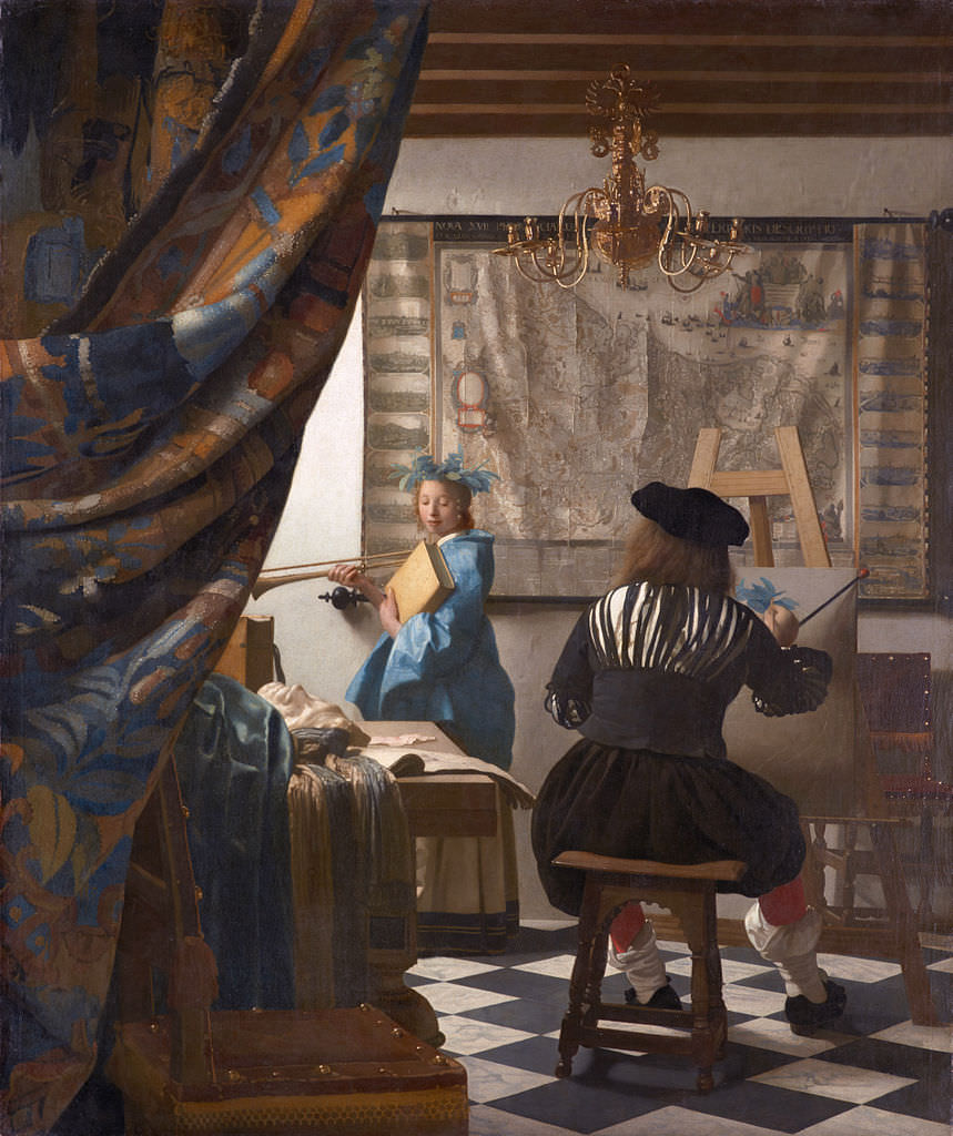 Allegory of Painting, Vermeer 1666