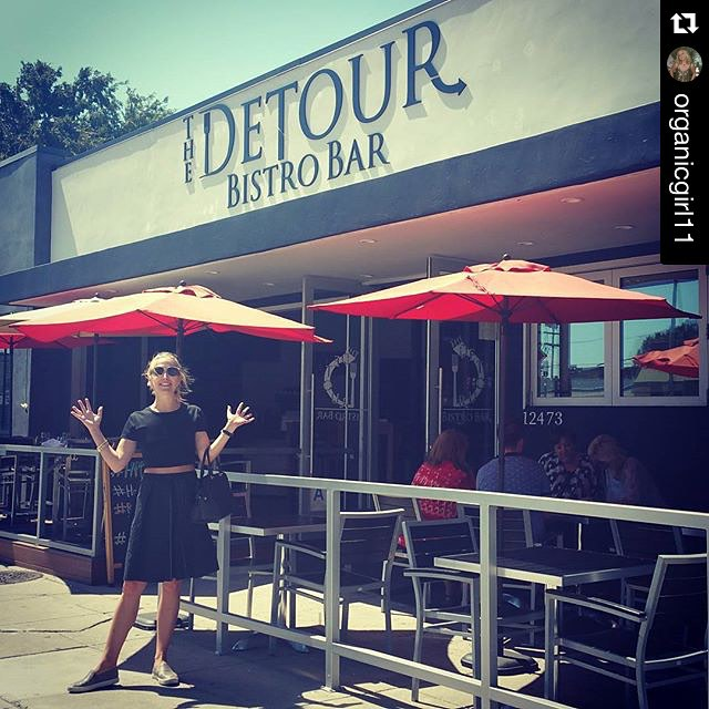 Glad to have you @organicgirl11 and thank you for sharing this wonderful photo with us. #thedetourbistrobar #bestdetourever #myfab5 #culvercity #losangeles #sunshine #smile #beach #calilife #photooftheday #picoftheday #food #foodie #instagood ・・・ Sunshine!  @susanpg24