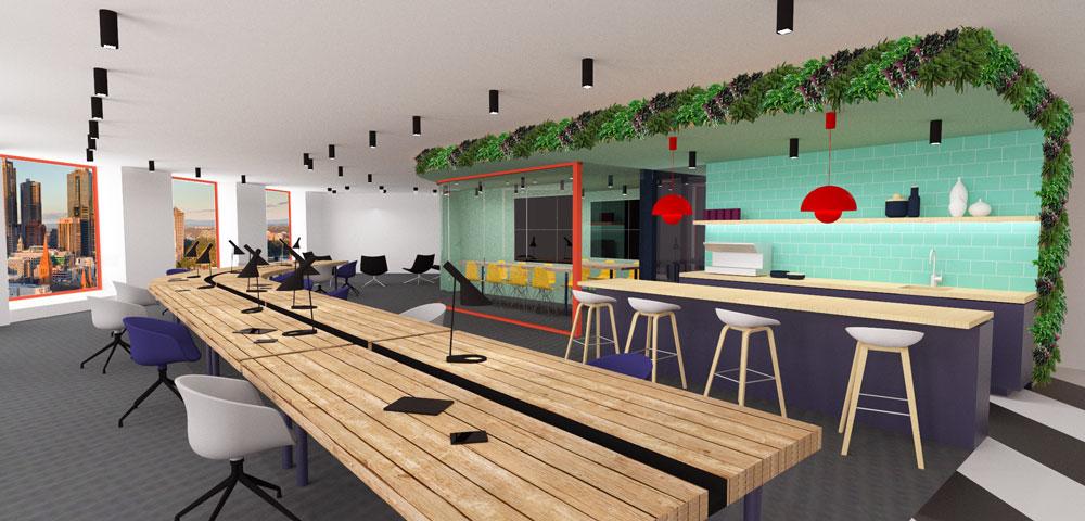 Merveilleux Marc Dixon Architect   IT Office Concept 01  Resized ...