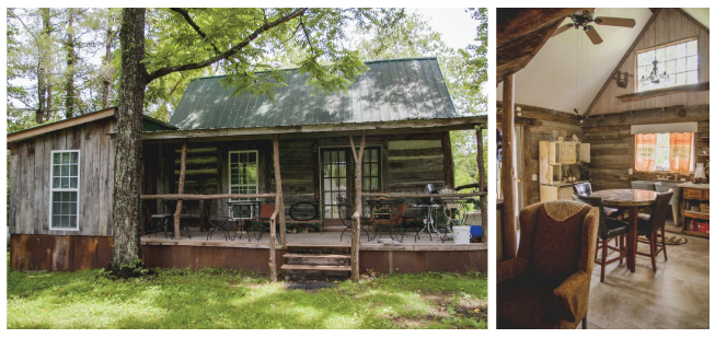 Moonshine Runner's Cabin, Tracy City, TN