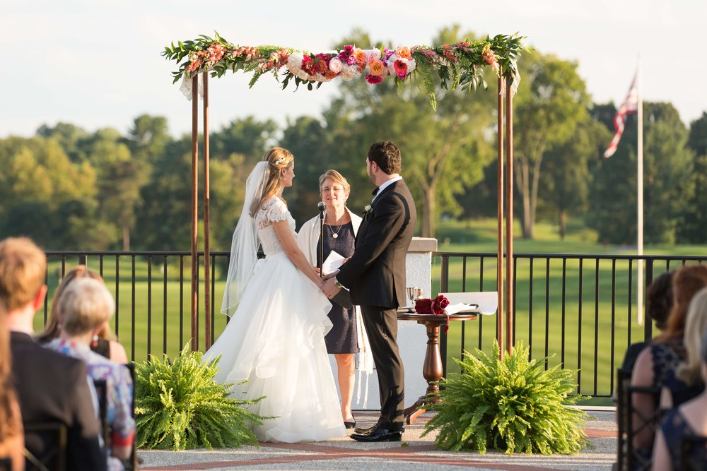 Summer Wedding at Congressional Country Club