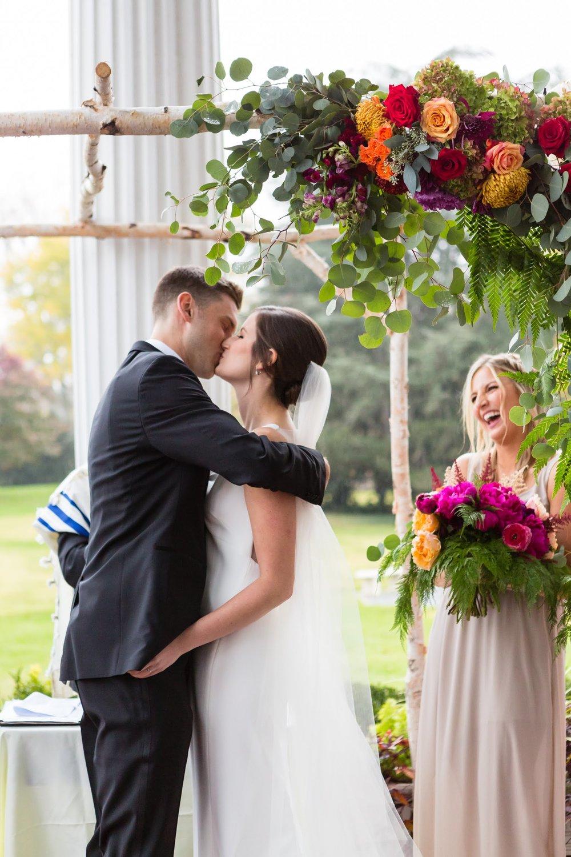 Fall Wedding at Rosemont Manor