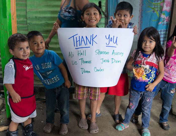 Thank you to everyone who donated specifically to our Guatemala City dump RAK!