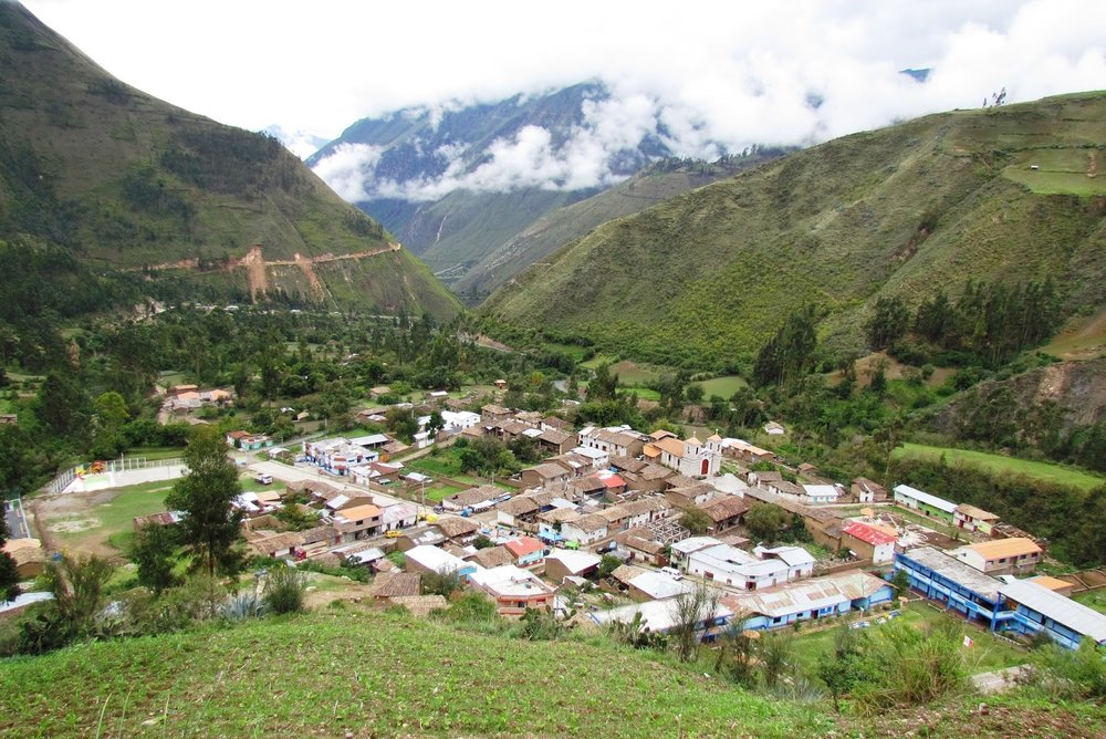Churcampa villlage in the Peruvian mountains where the RAKlife team is headed in August