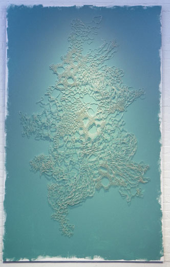 Pattern One , 2012, Paper, 96 x 48 in.