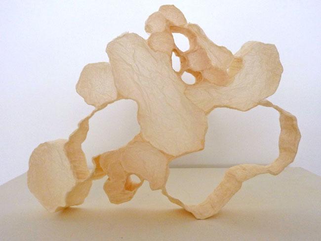 Part Empty, 2011, Paper  11 x 14 x 1 1/4 in.