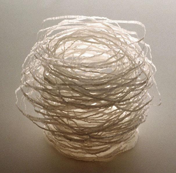Nest, 2011, 4 1/4 x 5 x 5 1/2 in