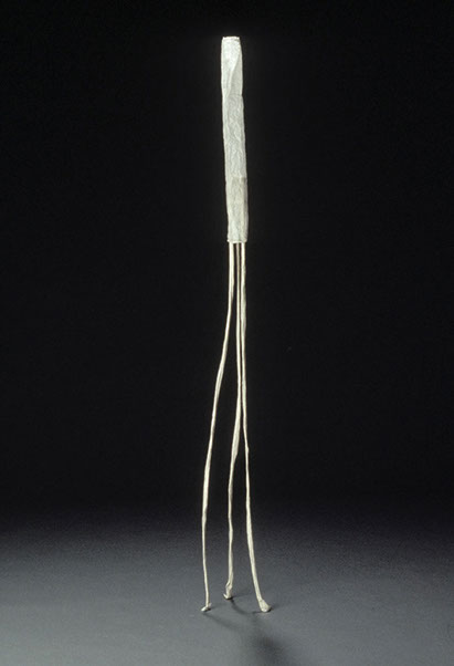 Long Girl , 1996, paper, 73 x 9 x 11 in.