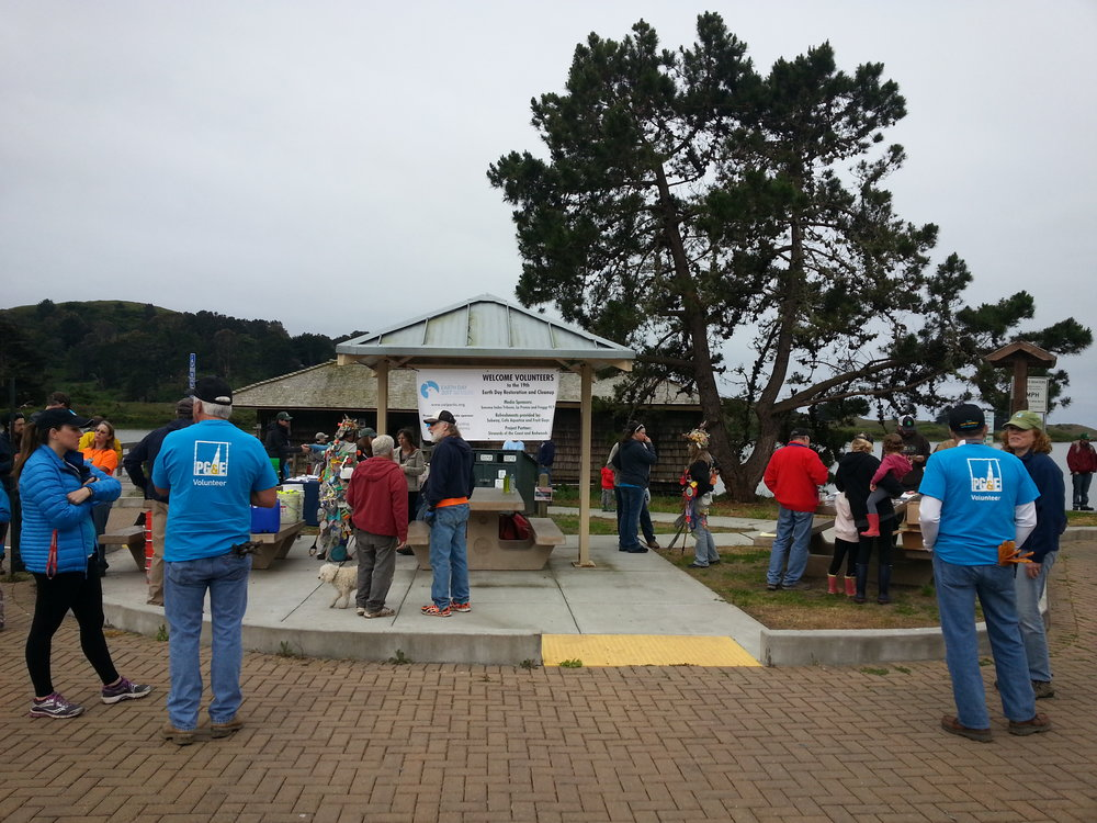 Earth Day Cleanup - Jenner, CA