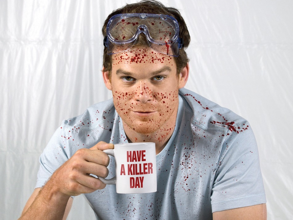 Think Dexter takes his chances on off-brand garbage bags and paper towels? I think not!