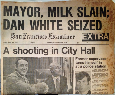 Gay lives don't matter, either: Dan White received 8 years and was out in 5 after killing two government officials.