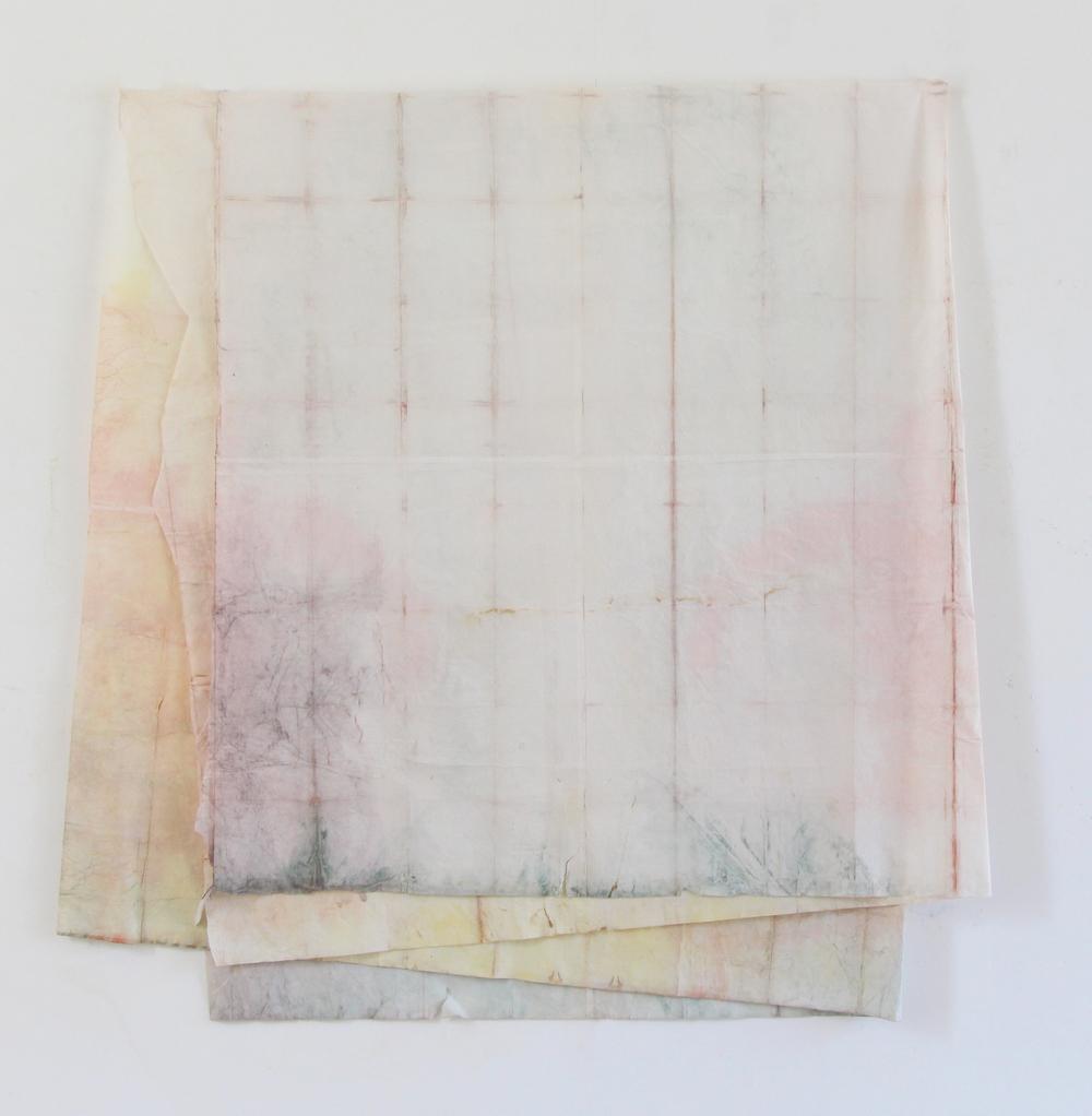 Natalia Jaime-Cortez,  Sans-titres , dessin sur papier, 35×35 cm, 2015