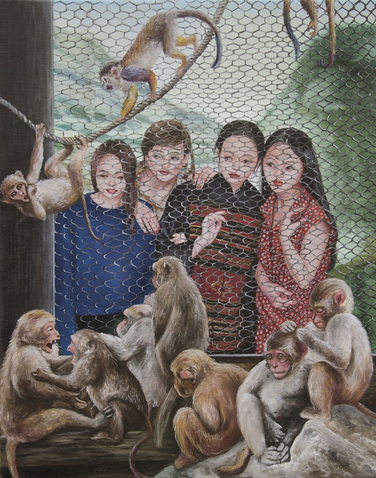 """""""Une affaire d'amis"""", 2015, Nazanin Pouyandeh - Courtesy de l'artiste et Galerie Sator"""