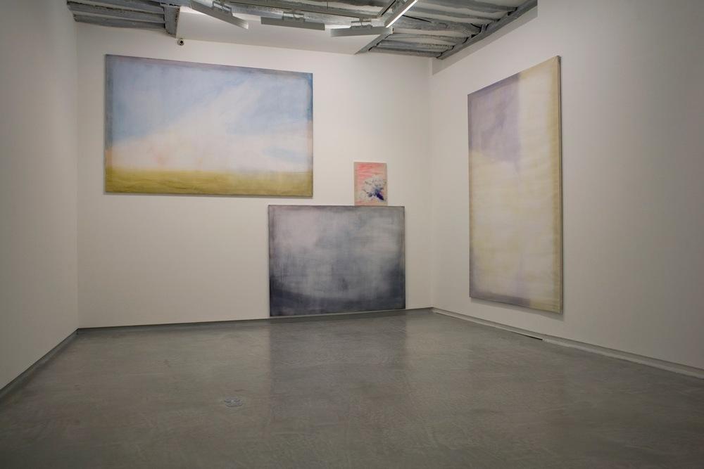 Vuede l'exposition War Poem, galerie Pascaline Mulliez jusqu'au 2 avril
