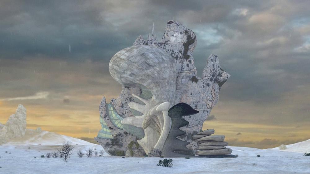 Trois rêves de chair et de béton - 2015 -Installation vidéo et sonore