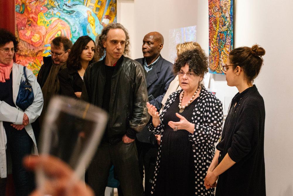 Visite Arty Mini 2, rencontre avec Ody Saban, galerie Corcia ©gaelle matata.jpg