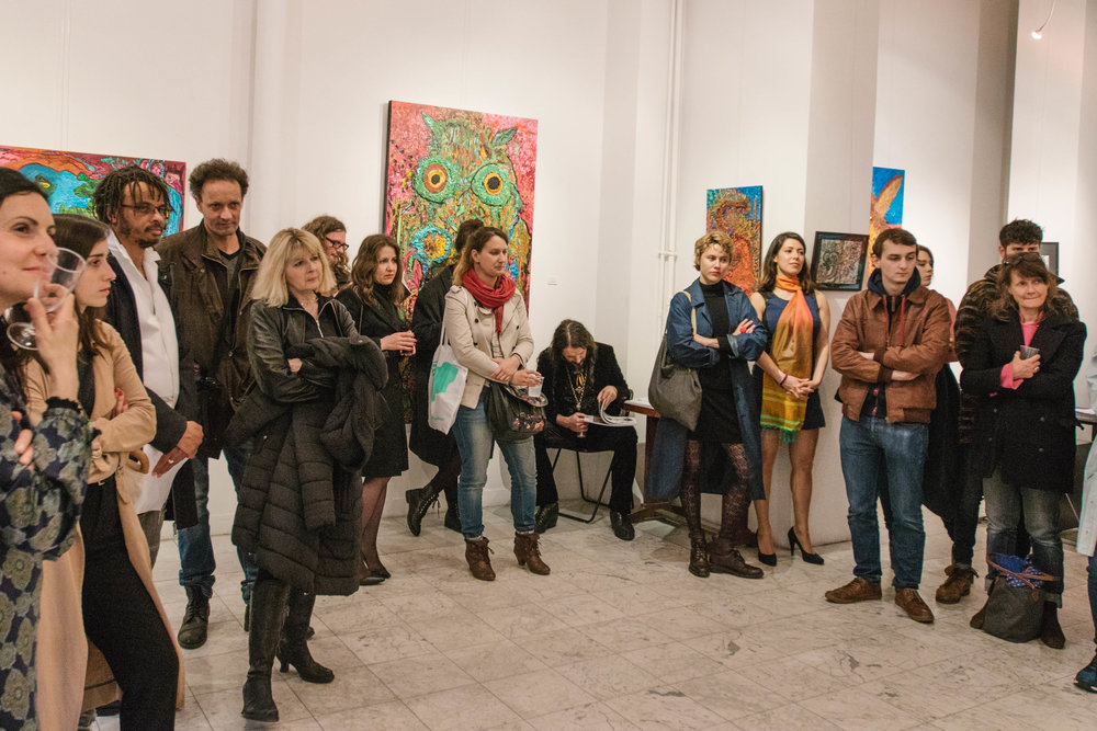 Visite Arty Mini, rencontre avec Ody Saban, galerie Corcia ©gaelle matata.jpg