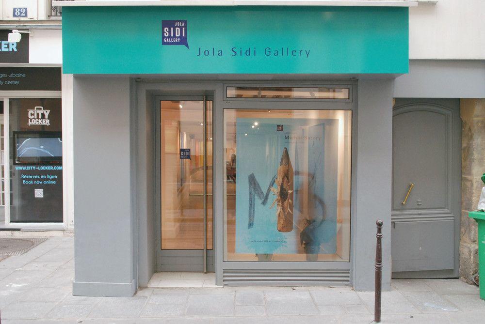 Galerie Jola Sidi - 80 rue des Gravilliers, 75003 Paris