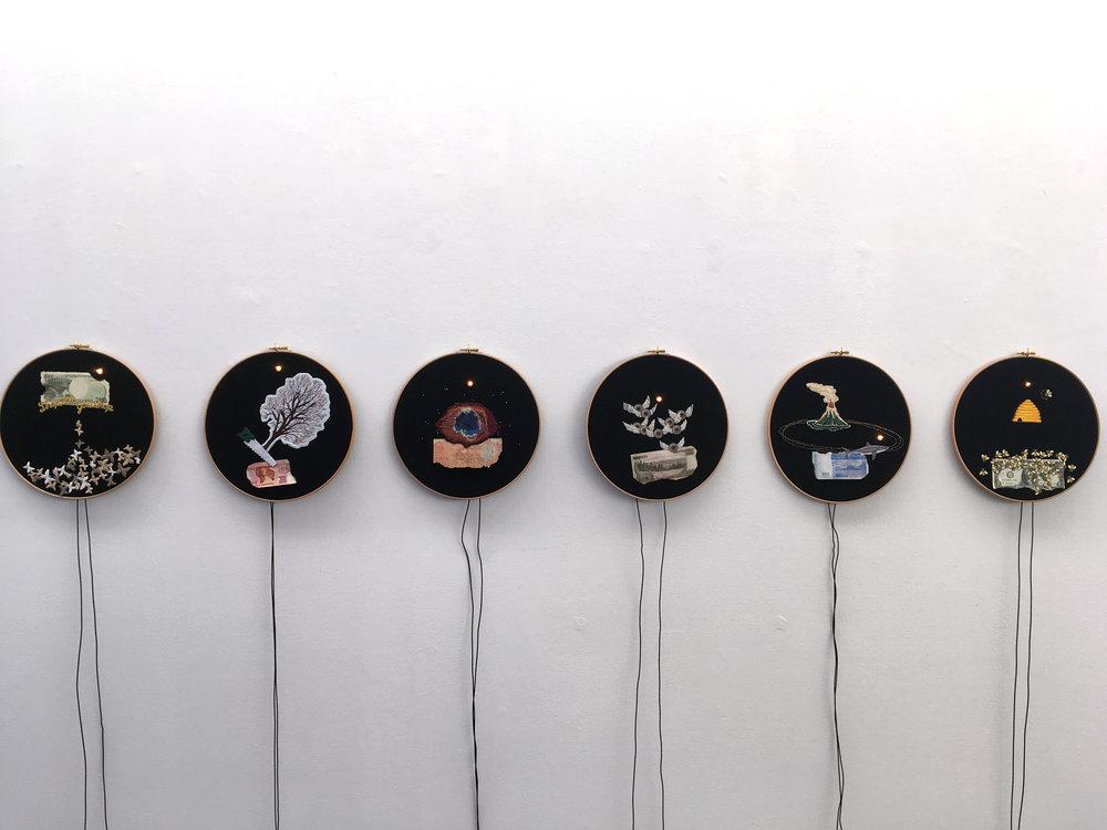 Art OrientÇ Objet, Les Tambours apotropaãques ou la machine Ö conjurer la fin du monde, 1994-2018. Courtesy galerie Les filles du calvaire, 2.JPG