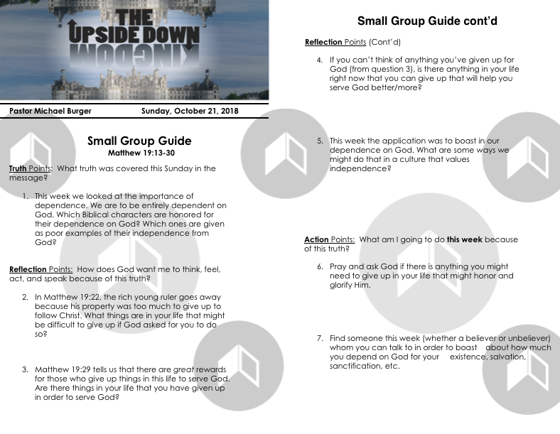 Small Group Guide