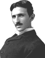 Click on image for more on Nikola Tesla. The Inventor of our Electrical System.