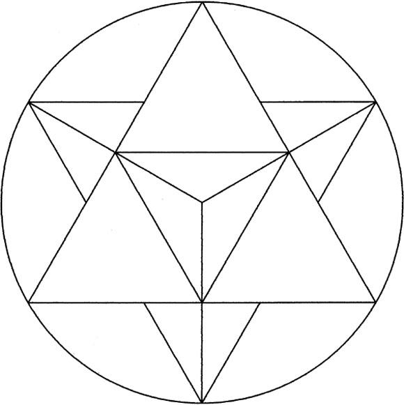 Merkaba - Tetragrammaton - Star Tetrahedron