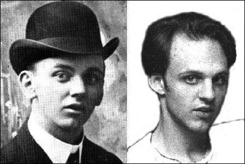Left: E Cayce - Right: D Wilcock