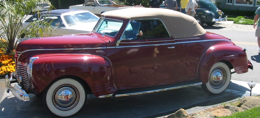 1941 Plymouth Convertible