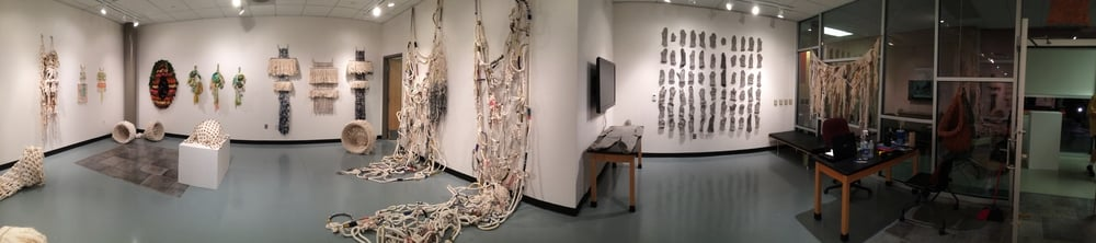 Solo Exhibition, Loomis Gallery, Mansfield University, September 28 - October 23, 2015