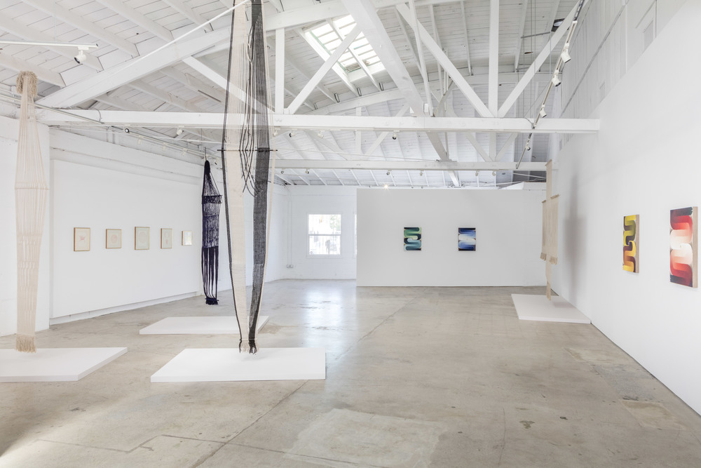 3 Women  (July 23 - September 17, 2016)    installation view (Lenore Tawney and Loie Hollowell)    Joshua White/JW Pictures, courtesy of the Landing, Los Angeles