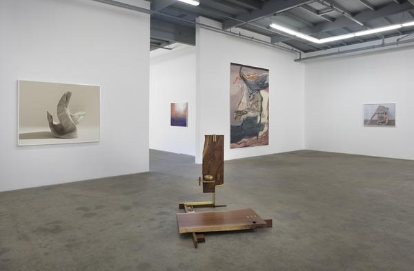 By the River,  installation view