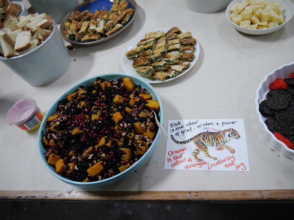 Nicola's tiger salad