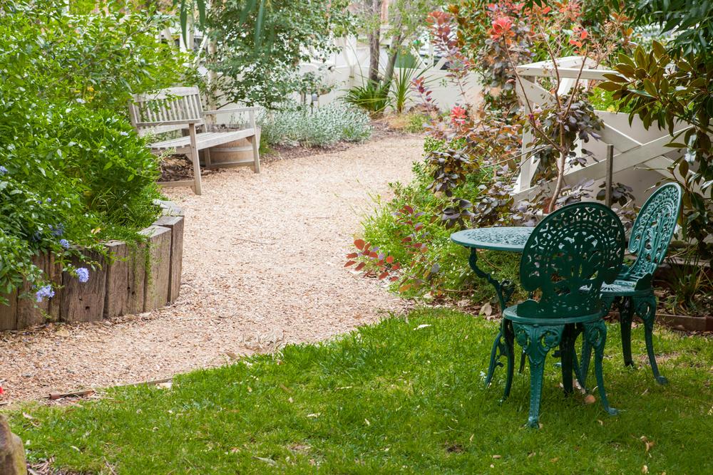 St Michaels front garden