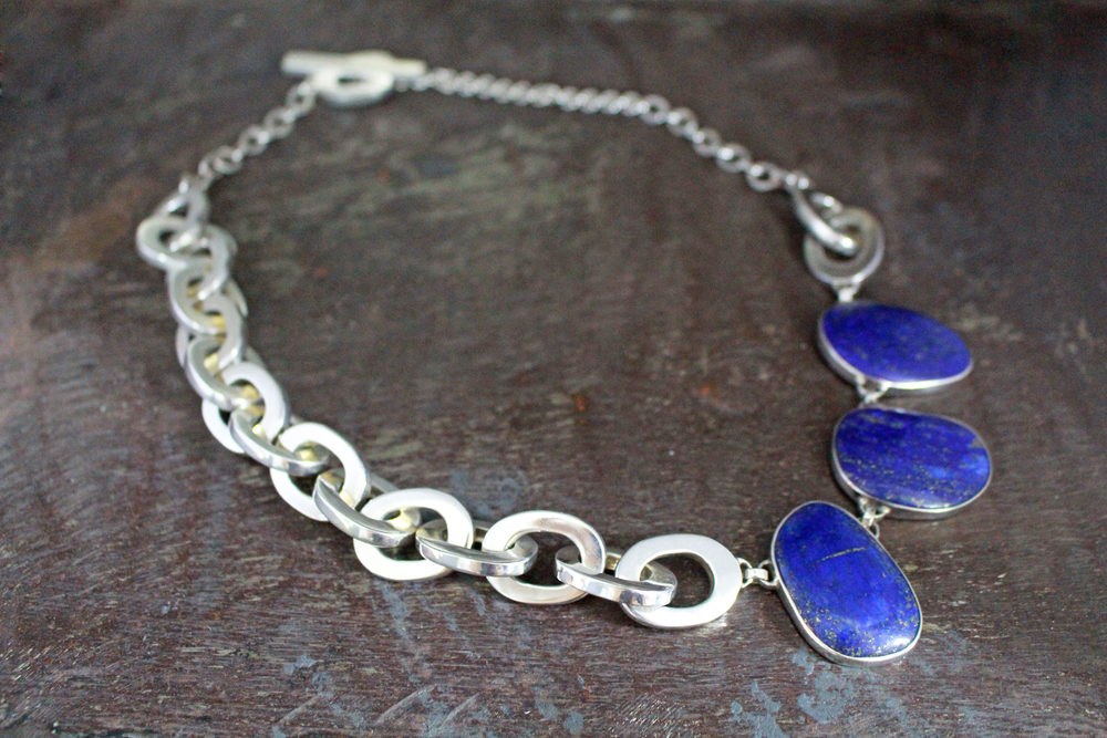 Lapis lazuli miranda necklace
