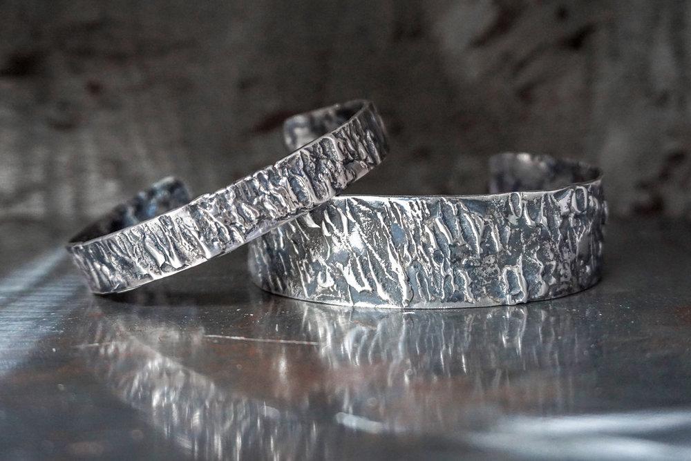 sterling silver cuffs