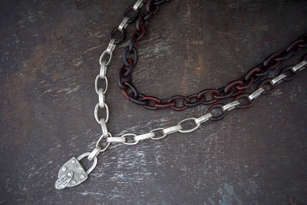 iron wood necklace