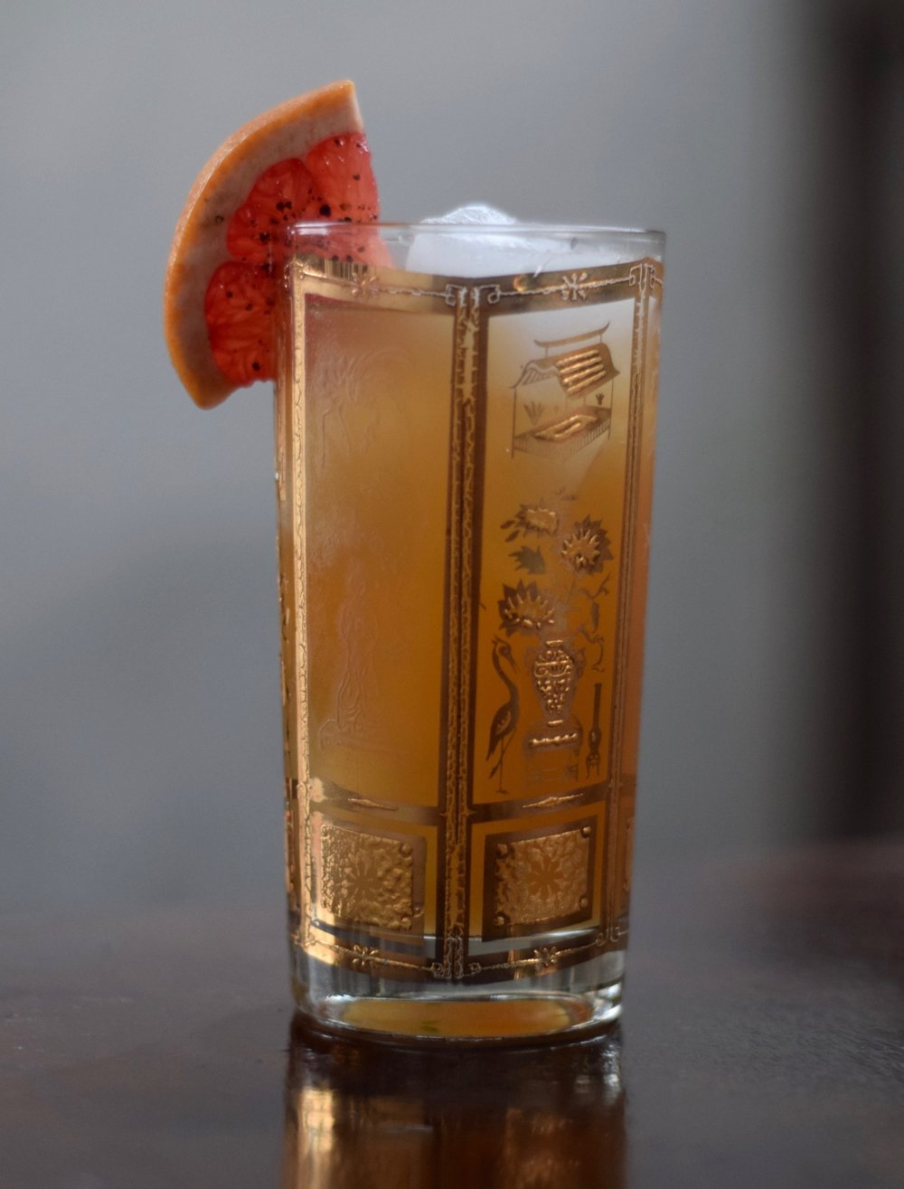 PALOMITA - 1 oz nostrum grapefruit piloncillo chipotle shrub1 oz fresh lime juice1/2 oz agave nectar2 dashes angostura bitters (optional)soda waterdirections: shake first three ingredients with ice.top with soda and strain over fresh ice.