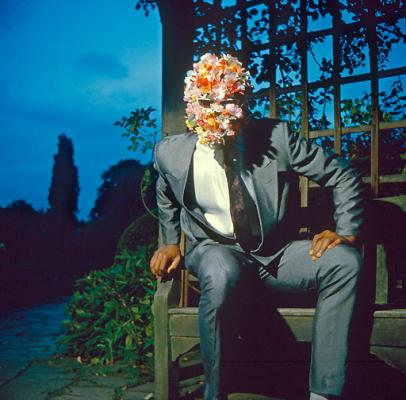Alva Bernadine - Man with his head full of flowers