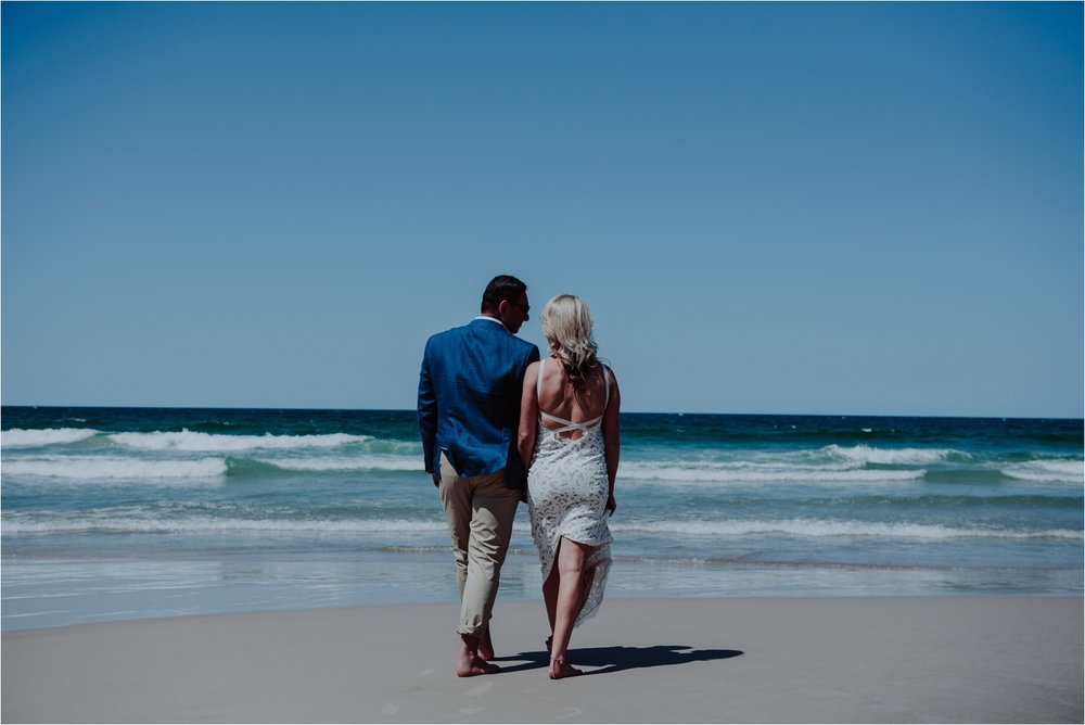 Beach wedding Byron Bay photographer