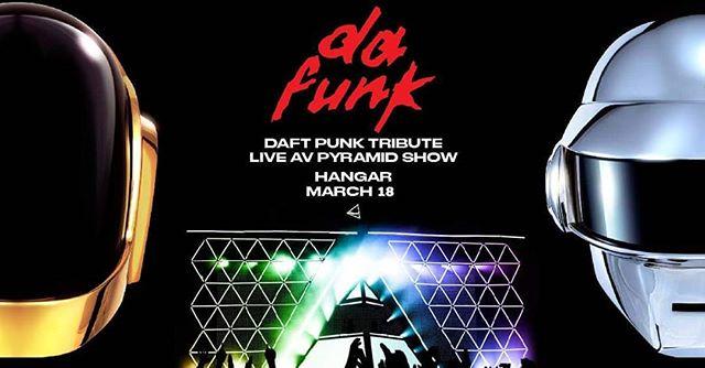 Tonigt from 10:30pm. Da Funk live AV Pyramid show.