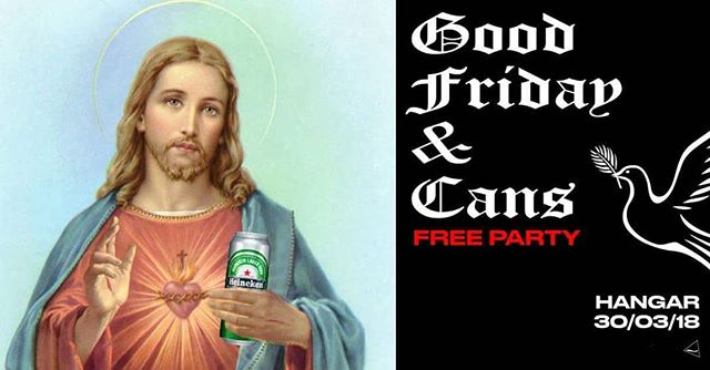 Good Friday & Cans anyone? Free entry, just head to our Facebook page to get your names down.