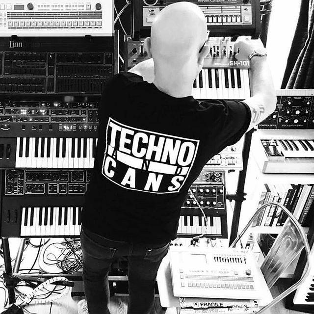 Rave legend and dance music pioneer, Altern 8 spotted in the studio wearing a @techno_and_cans tee.  Keep an eye out for a special announcement on the @techno_and_cans page tomorrow btw.